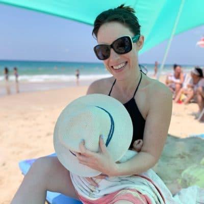 הנקה בקיץ בים